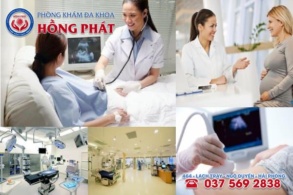 Đa khoa Hồng Phát là phòng khám thai sản chuyên nghiệp và chất lượng