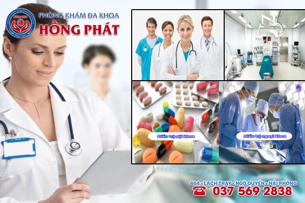 Phòng khám Hồng Phát là địa chỉ chữa trị bệnh áp xe tuyến Bartholin an toàn và chuyên nghiệp
