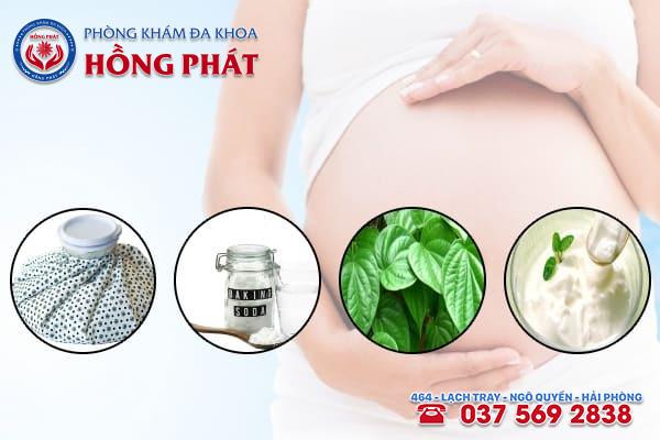 Các mẹo trị ngứa vùng kín khi mang thai hiệu quả