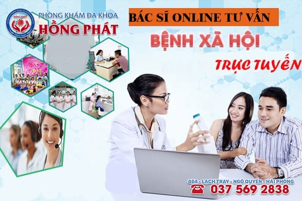 Phòng Khám Hồng Phát - Trung tâm bác sĩ online tư vấn bệnh xã hội uy tín hàng đầu tại Hải Phòng