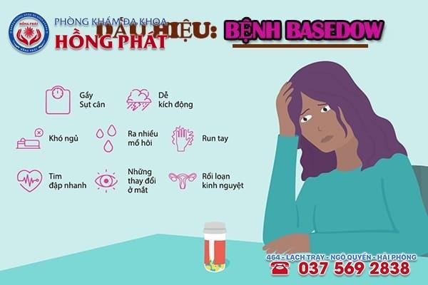 Nhận biết sớm triệu chứng bệnh Basedow