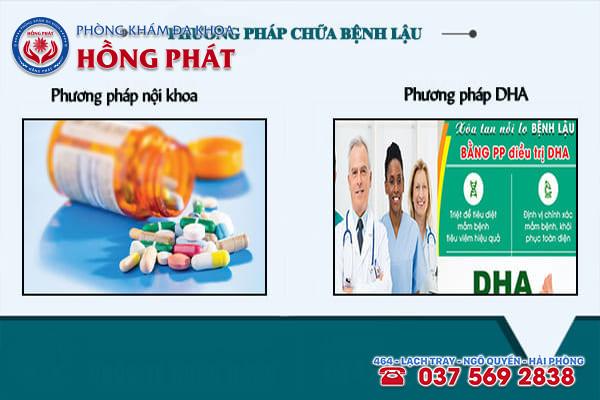 Những phương pháp hỗ trợ điều trị bệnh lậu an toàn, hiệu quả tại Phòng Khám Hồng Phát