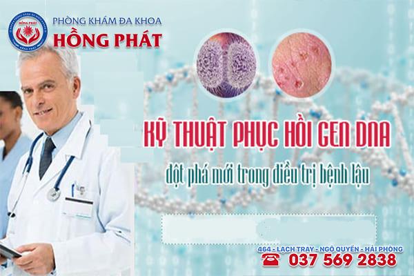 Chữa bệnh lậu hiệu quả bằng công nghệ DHA cải tiến mới tại Phòng Khám Hồng Phát