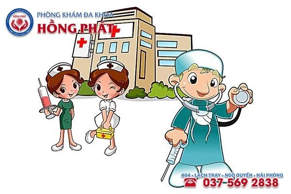 Phòng Khám Hồng Phát - Địa chỉ hỗ trợ điều trị bệnh lậu mãn tính hiệu quả tại Hải Phòng