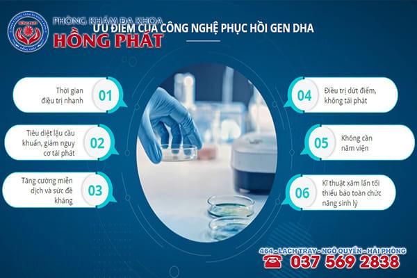Kỹ thuật DHA - Phương pháp điều trị bệnh lậu đạt hiệu quả và an toàn tại Phòng Khám Hồng Phát