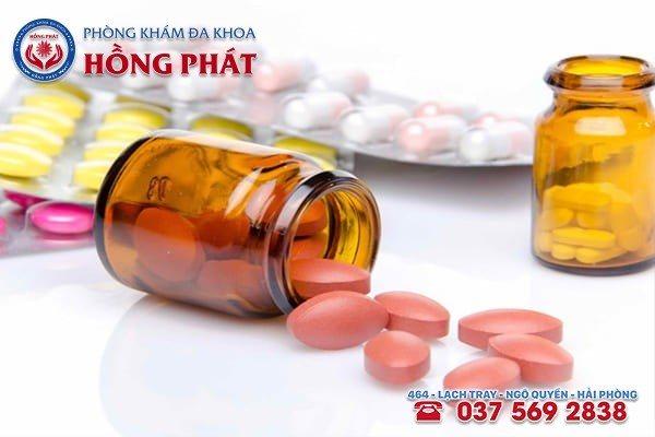 Điều trị viêm tắc vòi trứng bằng thuốc