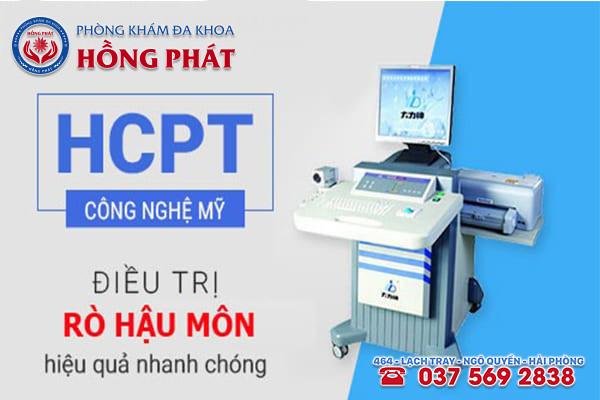 Phòng Khám Hồng Phát - Áp dụng phương pháp HCPT hiện đại vào điều trị bệnh rò hậu môn hiệu quả