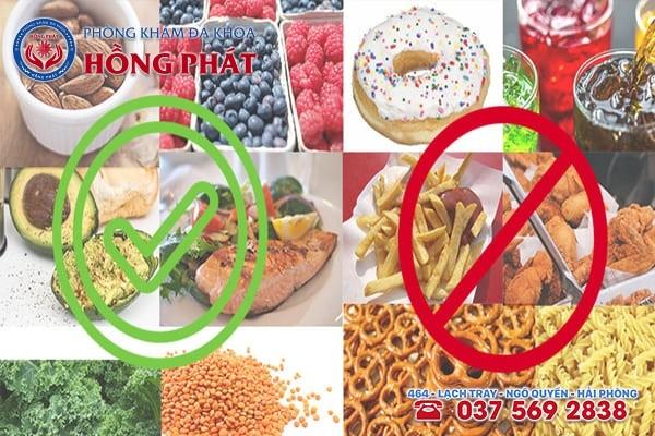 Khi mắc bệnh rối loạn cương dương cần kiêng những thực phẩm sau