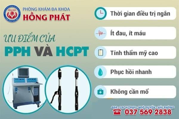 PPH và HCPT là 2 phương pháp phẫu thuật trĩ nội hiệu quả, phổ biến hiện nay