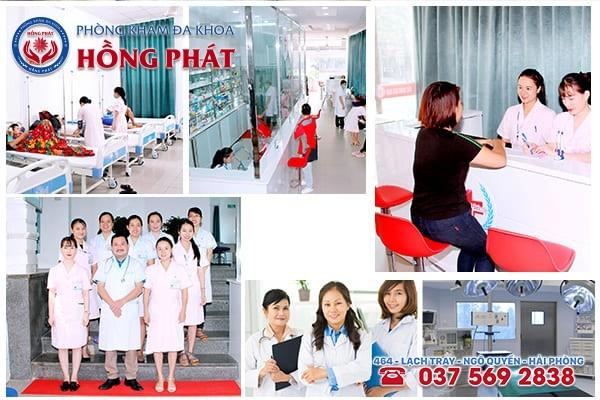 Phòng Khám Hồng Phát - Địa chỉ điều trị bệnh trĩ tốt nhất tại Hải Phòng