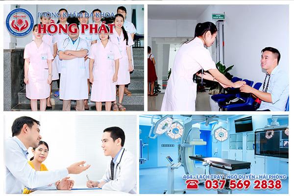Phòng Khám Hồng Phát - Địa chỉ điều trị viêm bao quy đầu hiệu quả, an toàn cao tại Hải Phòng