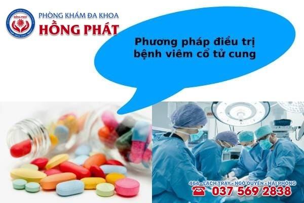 Dựa vào mức độ viêm nhiễm mà chuyên gia áp dụng phương pháp điều trị phù hợp