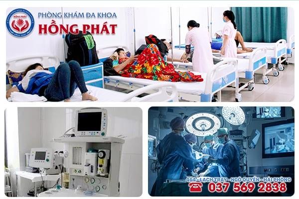 Phòng Khám Hồng Phát đơn vị khám chữa bệnh chuyên khoa tốt nhất tại Hải Phòng