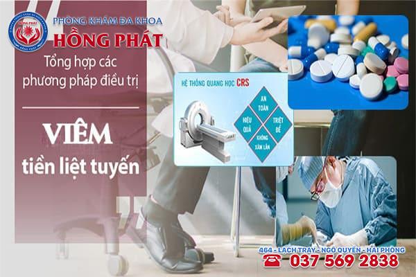 Những Phương pháp chữa viêm tuyến tiền liệt hiệu quả được áp dụng