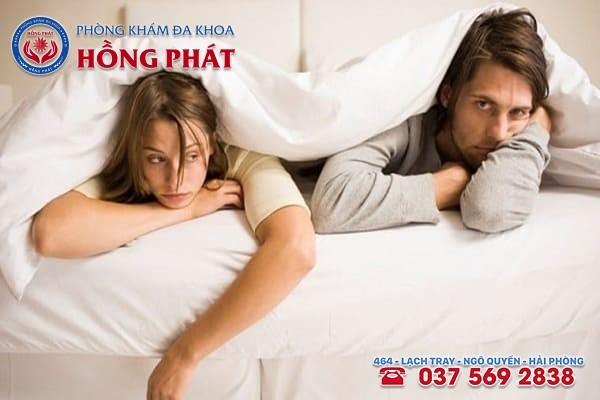 Bệnh mụn rộp sẽ khiến cho đời sống tình dục trở nên nhàm chán và thậm chí gây đổ vỡ hạnh phúc