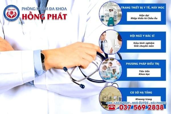 Đa khoa Hồng Phát là phòng khám điều trị bệnh bế kinh an toàn và chuyên nghiệp