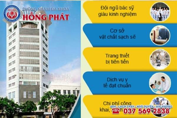 Phòng Khám Hồng Phát địa chỉ chữa trị xuất tinh sớm hiệu quả triệt để tại Hải Phòng
