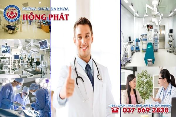 Phòng khám Hồng Phát là địa chỉ chữa trị bệnh phụ khoa chất lượng và uy tín