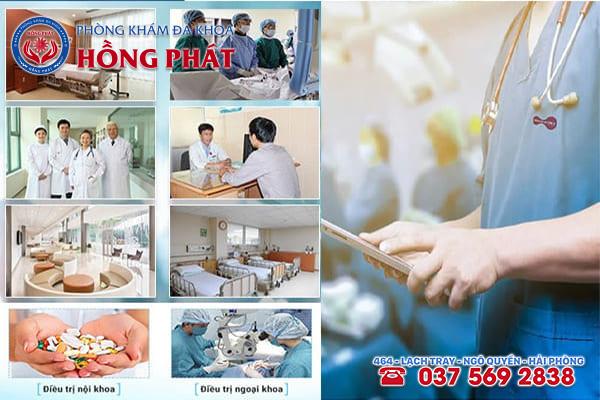 Phòng Khám Hồng Phát địa chỉ hỗ trợ điều trị sùi mào gà hiệu quả bằng phương pháp hiện đại
