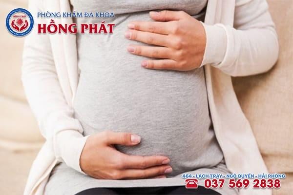 Phụ nữ mang thai đối tượng dễ mắc bệnh trĩ ngoại