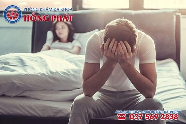 Rối loạn cương dương gây ảnh hưởng lớn đến đời sống tình dục