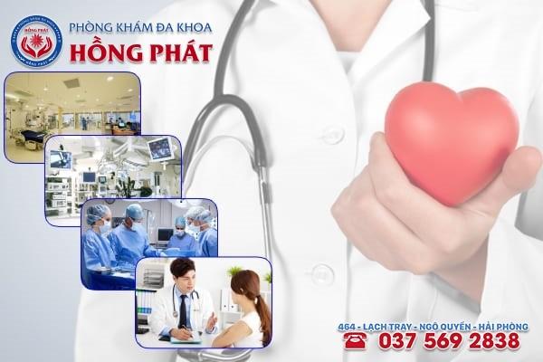 Đa khoa Hồng Phát là phòng khám điều trị bệnh phụ khoa uy tín