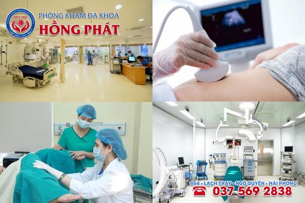Đa khoa Hồng Phát là phòng khám chăm sóc sức khoẻ sinh sản uy tín