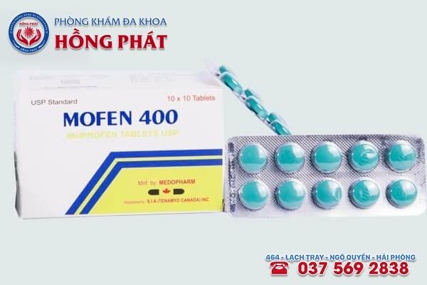 Thuốc giảm đau bụng kinh Mofen 400