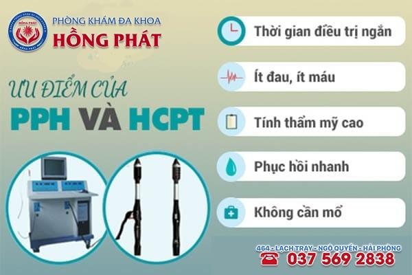 Phương PPH và HCPT 2 phương pháp cắt trĩ ngoại hiện đại, an toàn