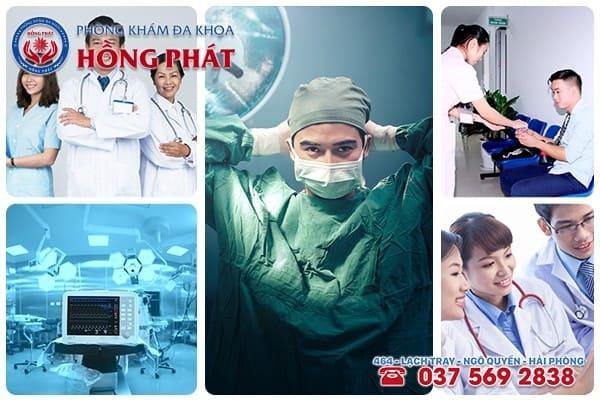 Phòng Khám Đa Khoa Hồng Phát - Đơn vị y tế khám chữa bệnh nam khoa uy tín với mức phí hợp lý