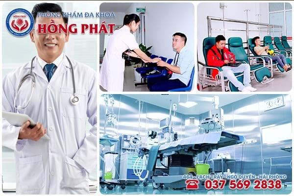 Phòng Khám Hồng Phát - địa chỉ khám chữa bệnh rối loạn cương dương hiệu quả tiết kiệm chi phí