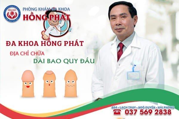 Đa Khoa Hồng Phát chuyên khám chữa bệnh dài bao quy đầu