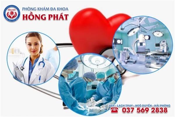 Phòng khám Hồng Phát - địa chỉ chữa trị bệnh phì đại cổ tử cung tốt nhất hiện nay