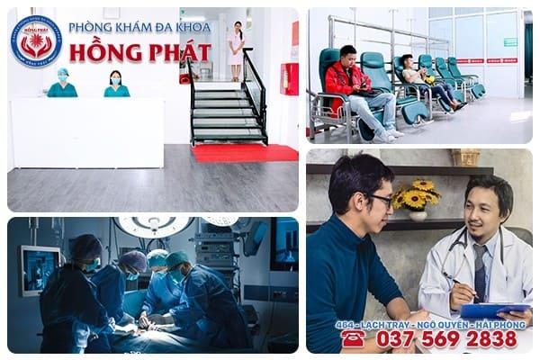 Phòng Khám Hồng Phát - Đơn vị khám chữa sưng bao quy đầu hiệu quả với mức phí hợp lý