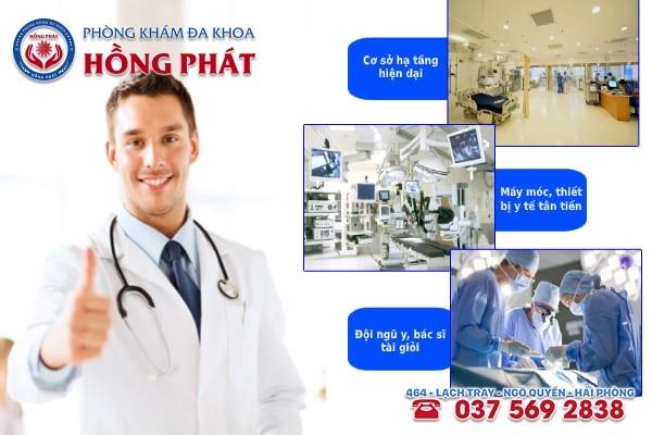 Đa khoa Hồng Phát là phòng khám chữa trị rối loạn kinh nguyệt tốt nhất hiện nay