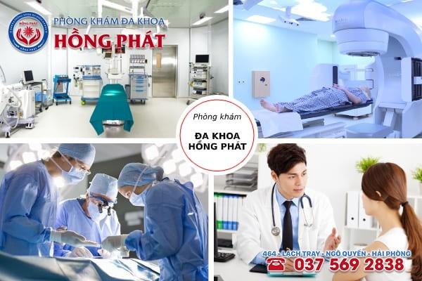 Đa khoa Hồng Phát - Địa chỉ chữa bệnh viêm cổ tử cung chất lượng, an toàn