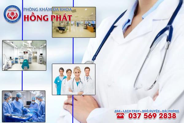 Đa khoa Hồng Phát là phòng khám chữa trị bệnh viêm vùng chậu uy tín và chuyên nghiệp