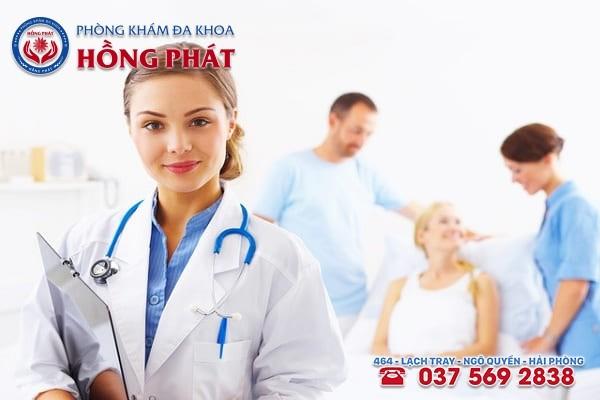Phòng khám Hồng Phát - Địa chỉ chữa bệnh viêm buồng trứng an toàn và chuyên nghiệp