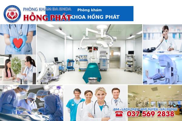 Đa khoa Hồng Phát là phòng khám điều trị bệnh viêm vùng kín chất lượng và chuyên nghiệp