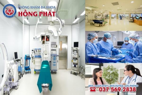 Phòng khám Hồng Phát là địa chỉ chữa trị bệnh phụ khoa chất lượng và chuyên nghiệp
