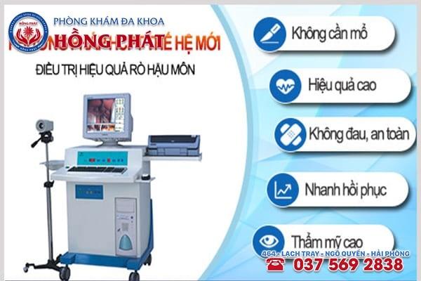 Phương pháp HCPT chữa rò hậu môn hiệu quả không cần phẫu thuật