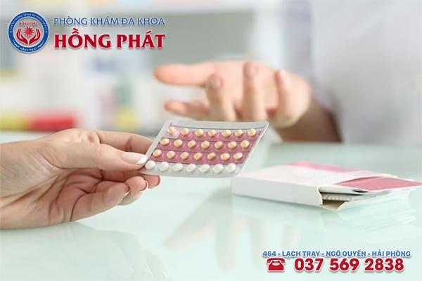Chữa rong kinh bằng thuốc tránh thai được không?