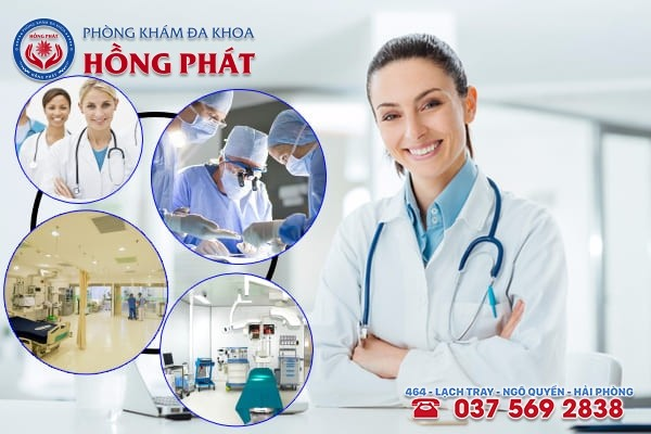 Đa khoa Hồng Phát - phòng khám chữa trị bệnh rong kinh chuyên nghiệp và an toàn