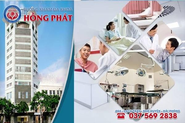 Phòng Khám Hồng Phát - Địa chỉ chữa trị bệnh áp xe hậu môn tốt nhất ở Hải Dương