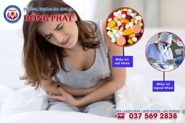 Dựa vào nguyên nhân gây bệnh mà chuyên gia y tế áp dụng phương pháp điều trị phù hợp