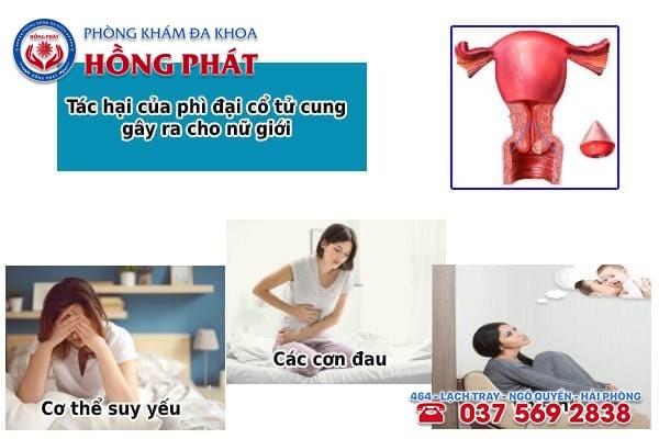 Bệnh phì đại cổ tử cung là nguyên nhân dẫn đến vô sinh ở nữ giới
