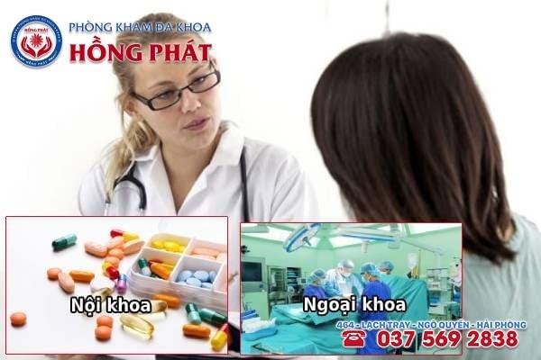 Phụ thuộc vào nguyên nhân dẫn đến bệnh để chọn phương pháp điều trị phù hợp