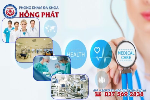 Phòng khám Hồng Phát là địa chỉ chữa trị bệnh phụ khoa uy tín