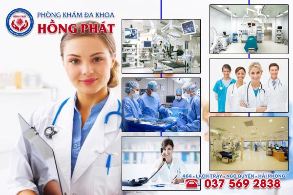 Đa khoa Hồng Phát là phòng khám điều trị bệnh sa tử cung uy tín và chuyên nghiệp