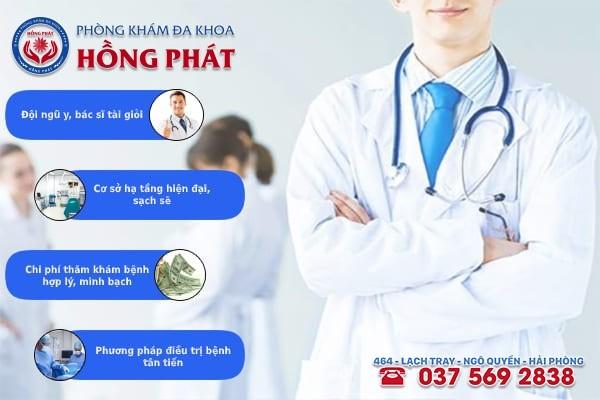 Phòng khám Hồng Phát là địa chỉ chữa trị bệnh u xơ tử cung chất lượng và chuyên nghiệp